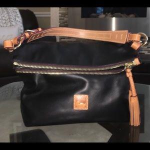Dooney & Bourke Bags - Dooney & Bourke Smooth Leather Shoulder Bag